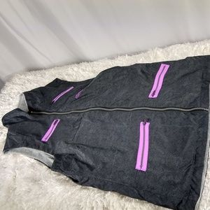 Antigua Women's Medium Golf Sleeveless Zip Vest